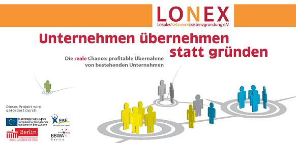 Unternehmen übernehmen statt gründen Lonex e.V.