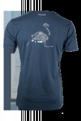 Naturrebell Nandu T-Shirt blau